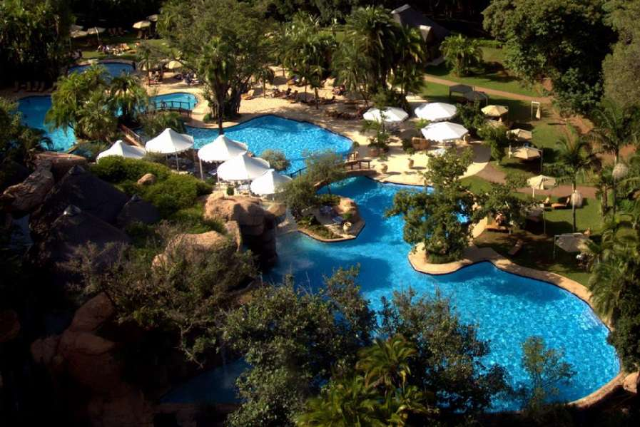 Cascades hotel sun city hotel northwest accommodation for Swimming pool resort in gensan