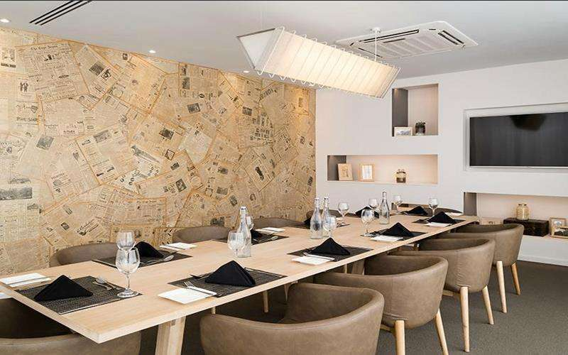 Protea hotel fire and ice cape town hotels for Best private dining rooms cape town